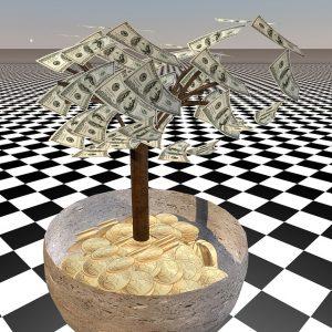 Geld- und Gold-Baum
